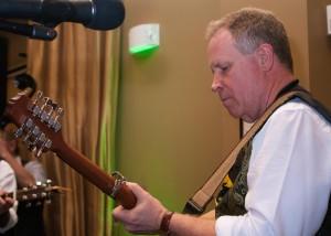 Solivita Busker Steve Plays Banjo